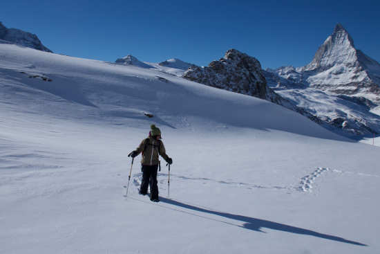 Schneeschuhwanderungen mit dem Skilehrer Stefan Dürst